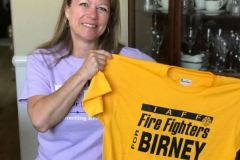 Firefighters endorsement t-shirt