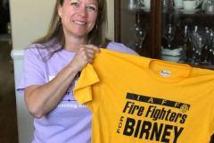 Firefighters endorsement t-shirt