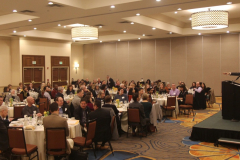 Dow Constantine addresses kickoff breakfast audience.