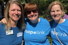 Hopelink team at Derby Days